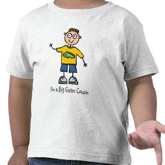 Primo grande del cocodrilo - muchacho camisetas