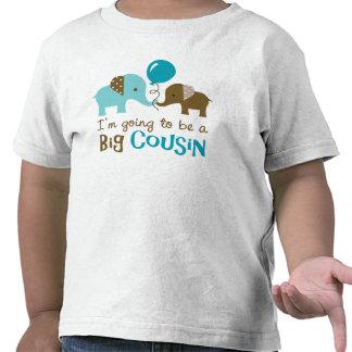 Primo grande futuro - camisetas del elefante de la