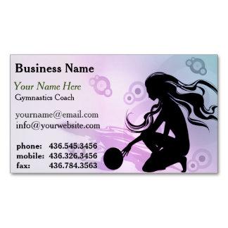 Primo Gymnastics Coach Magnetic Business Card