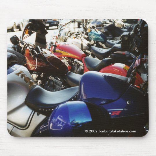 """""""Primo Hot Motorcycles"""" MOUSEPAD"""