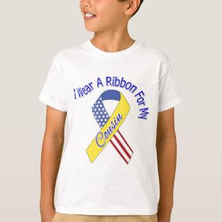 Primo - llevo un patriótico militar de la cinta remera