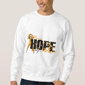 Primo mi héroe - esperanza de la leucemia suéter