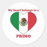 Primo Round Stickers