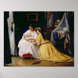 Primogénito, 1863 póster