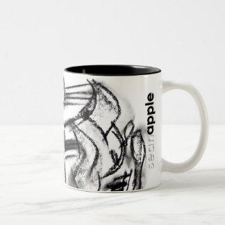 Primordial Calculus Two-Tone Coffee Mug