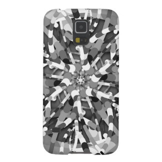 Primordial Egg - black&white abstract burst Galaxy S5 Cover