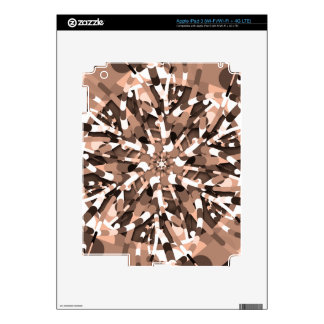 Primordial Egg - Earthy abstract burst Skin For iPad 3