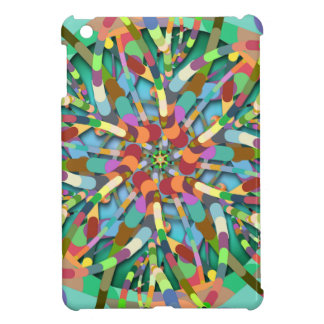Primordial Egg - Emerald abstract burst Case For The iPad Mini