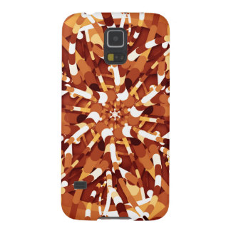 Primordial Egg - Multi color abstract burst Case For Galaxy S5