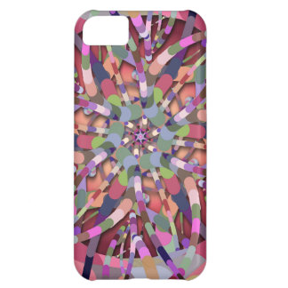 Primordial Egg - Multi color abstract burst Case For iPhone 5C