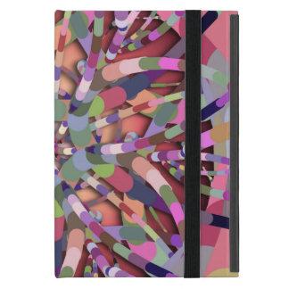 Primordial Egg - Multi color abstract burst Cases For iPad Mini