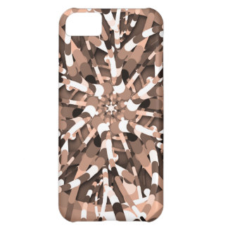 Primordial Egg - Multi color abstract burst Cover For iPhone 5C