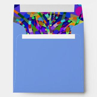 Primordial Egg - Multi color abstract burst Envelope
