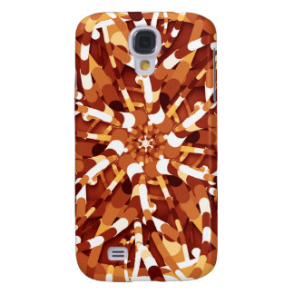 Primordial Egg - Multi color abstract burst Galaxy S4 Cover