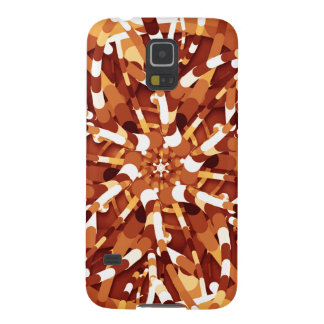 Primordial Egg - Multi color abstract burst Galaxy S5 Case