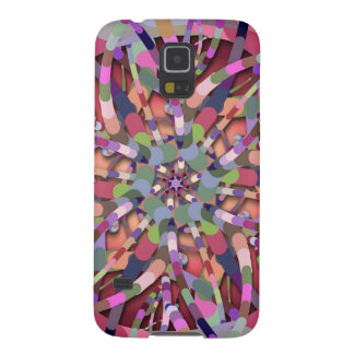 Primordial Egg - Multi color abstract burst Galaxy S5 Cover