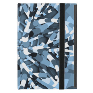 Primordial Egg - Multi color abstract burst iPad Mini Cases