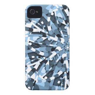 Primordial Egg - Multi color abstract burst iPhone 4 Case-Mate Case