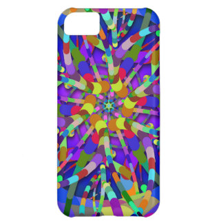 Primordial Egg - Multi color abstract burst iPhone 5C Case