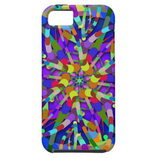 Primordial Egg - Multi color abstract burst iPhone SE/5/5s Case