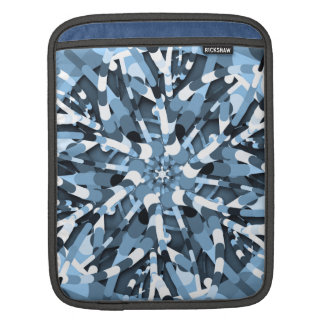 Primordial Egg - Multi color abstract burst Sleeve For iPads
