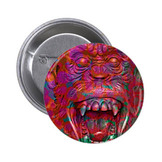 PRIMORDIAL SCREAM PINBACK BUTTON