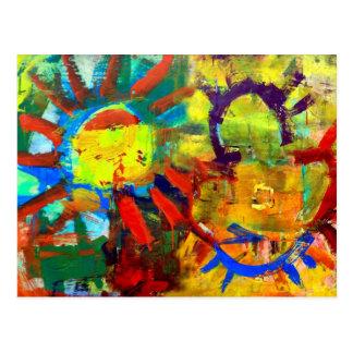 Primordial Sun Postcard