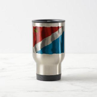 Primorsky Krai Flag 15 Oz Stainless Steel Travel Mug