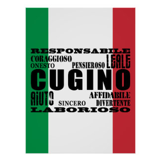 Primos italianos: Calidades Póster