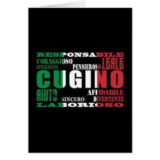 Primos italianos: Calidades Tarjeta Pequeña