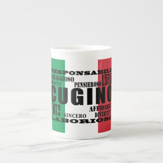 Primos italianos: Calidades Taza De Porcelana