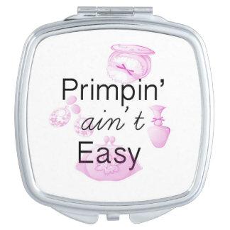 Primpin no es espejo compacto fácil