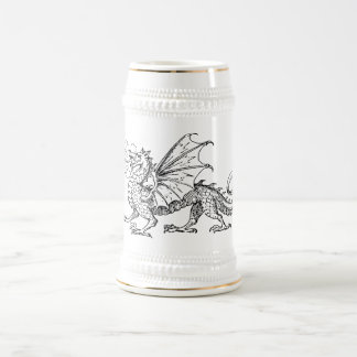 Primping Dragon Beer Stein