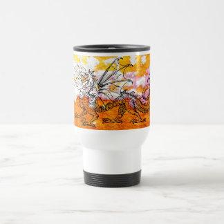 Primping Dragon Travel Mug