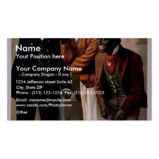 Primrose and West in 'Musical Eccentrics' Retro Th Double-Sided Standard Business Cards (Pack Of 100)