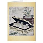 Primrose by Kubo, Shunman Ukiyoe Card