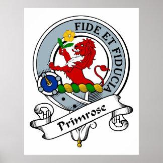 Primrose Clan Badge Posters