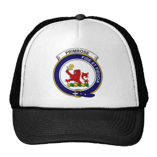 Primrose Clan Badge Trucker Hats