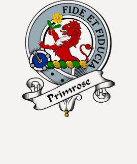 Primrose Clan Badge Tshirt