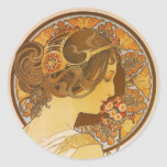 Primrose Classic Round Sticker