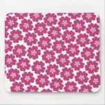 Primrose Floral Pattern Mousepad