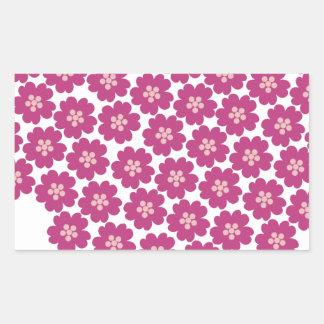 Primrose Floral Pattern Sticker