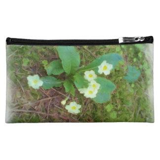 primrose Flower Cosmetics Bags