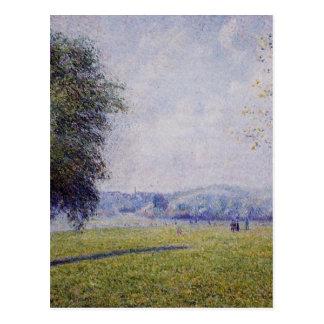 Primrose Hill, Regent's Park by Camille Pissarro Postcard