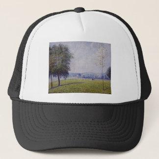 Primrose Hill, Regent's Park by Camille Pissarro Trucker Hat
