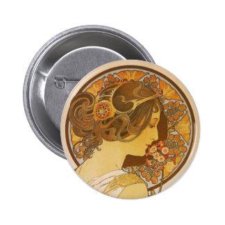 Primrose Pinback Button