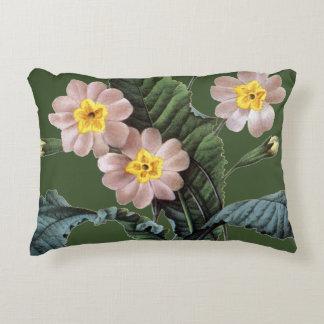 Primrose (Primula Aucalis) Accent Pillow