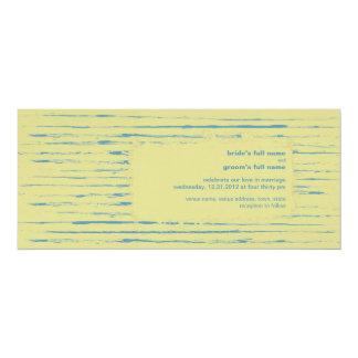 "Primrose Wedding Invitation 2 4"" X 9.25"" Invitation Card"