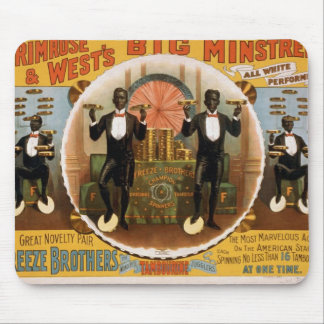 Primrose & West, 'At one time' Retro Theater Mouse Pad