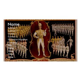 Primrose West s The Vanishing Grenadiers Business Card Templates